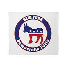 New York Democratic Party Original Throw Blanket