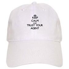 Keep Calm and Trust Your Agent Baseball Cap