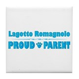 Lagotto Parent Tile Coaster