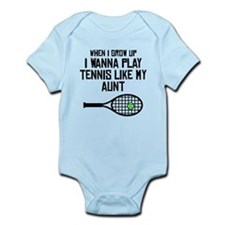 Play Tennis Like My Aunt Body Suit