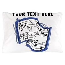 Custom Music Sheet Pillow Case
