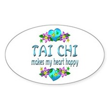 Tai Chi Heart Happy Decal