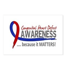 CHD Awareness 2 Postcards (Package of 8)
