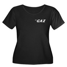The Gaz Women's Scoop Neck Dark Plus Size T-Shirt