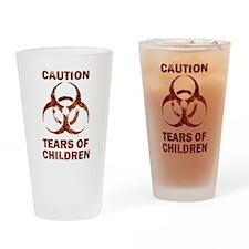 Tears of Children Drinking Glass