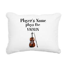 Personalize this Design Rectangular Canvas Pillow