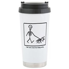 Unique Dog bone Travel Mug