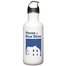 House of Blue Skies lo Water Bottle