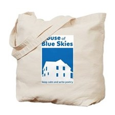 House of Blue Skies - keep calm and write Tote Bag
