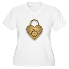 The Key to a Womans Heart is Ring Shaped Plus Size