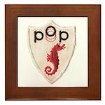 Pop Logo Framed Tile