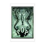 Pop Logo By David Doherty Mini Poster Print