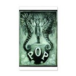 Pop Logo By David Doherty 35x21 Wall Decal