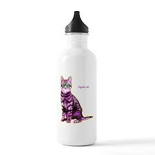 HipsterCat Water Bottle