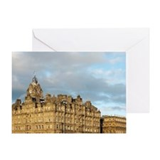 edinburgh balmoral hotel Greeting Card