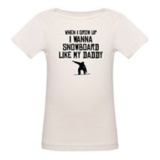 Snowboard Like My Daddy T-Shirt