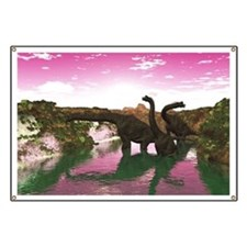 Brachiosaurus Banner