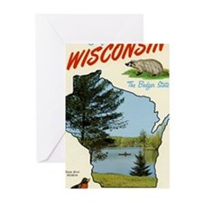 Retro Wisconsin Greeting Cards (20)