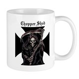 Chopper Shed Coffee Small Mug