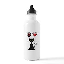 LOVE CATS Water Bottle