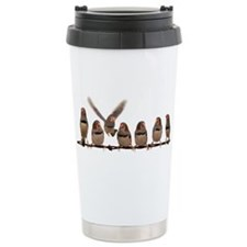 Unique Zebra finches Travel Mug