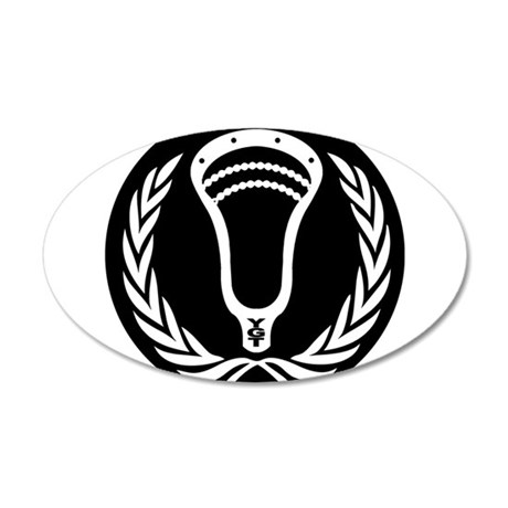 Lacrosse_Round_VW_Blk Wall Decal