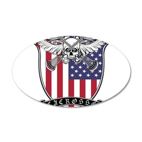 Lacrosse_Skull_US Wall Decal