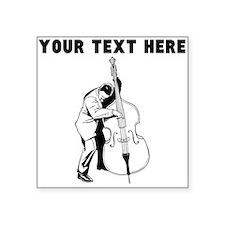 Custom Bass Player Sticker