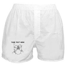 Custom Drum Set Boxer Shorts