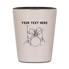 Custom Drum Set Shot Glass