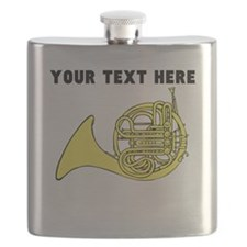 Custom French Horn Flask