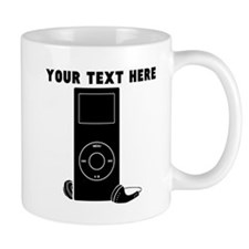 Custom MP3 Player Mugs