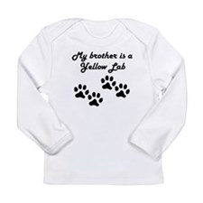 My Brother Is A Yellow Lab Long Sleeve T-Shirt