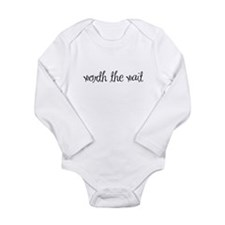 Cute Infertility Long Sleeve Infant Bodysuit