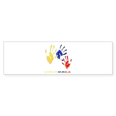 Colombian hands Bumper Sticker