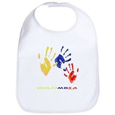 Colombian hands Bib