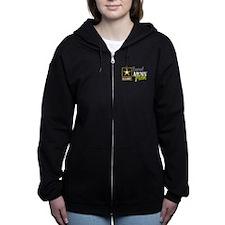 Proud Army Mom Women's Zip Hoodie