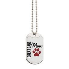 Great Dane Mom 2 Dog Tags