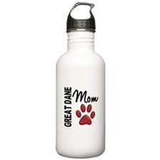 Great Dane Mom 2 Water Bottle