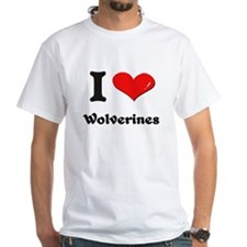 I love wolverines Shirt