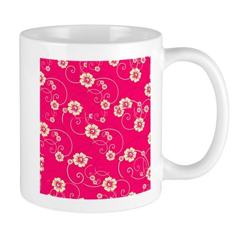 Red Yellow Poppies Spring Flowers Mugs