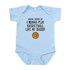 Basketball Like My Daddy Body Suit