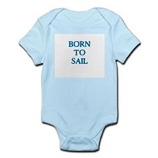 Born to Sail Baby Body Suit