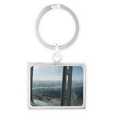 frosty windows Landscape Keychain