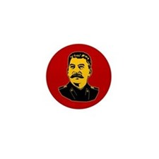 Stalin Propaganda Mini Button