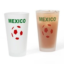 Mexico soccer Drinking Glass