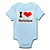 I love tortoises  Infant Bodysuit