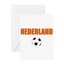 Nederland voetbal soccer Greeting Cards