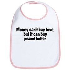 peanut butter (money) Bib