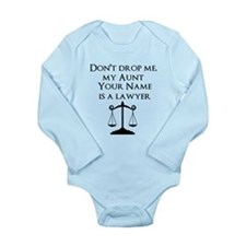 My Aunt (Your Name) Is A Lawyer Body Suit